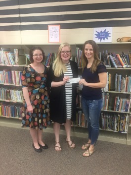 Donation to Akron Public Library for Books